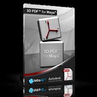 3D PDF for Maya – 15% Off