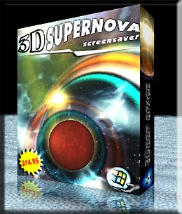 20% 3D Supernova Screensaver Coupon