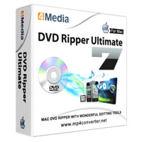 4Media DVD Ripper Ultimate 7 for Mac Coupon Code – 40%