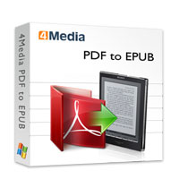 4Media PDF to EPUB Converter Coupon – 40%