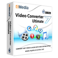 4Media Video Converter Ultimate 7 for Mac Coupon – 40%
