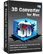 4Videosoft 3D Converter for Mac Coupon Code – 90%