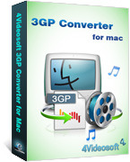 Exclusive 4Videosoft 3GP Converter for Mac Coupon Discount