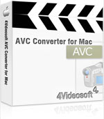 4Videosoft AVC Converter for Mac Coupon – 90%