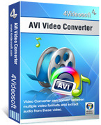 4Videosoft AVI Video Converter Coupon