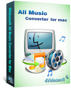 4Videosoft All Music Converter for Mac Coupon