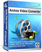 4Videosoft Archos Video Converter Coupon Code