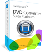 Amazing 4Videosoft DVD Converter Suite Platinum Coupon