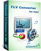 4Videosoft FLV Converter for Mac Coupon