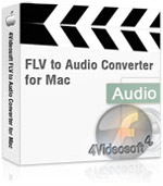 4Videosoft FLV to Audio Converter for Mac Coupon Code – 90% Off