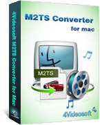 4Videosoft M2TS Converter for Mac Coupon
