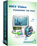 4Videosoft MKV Video Converter for Mac – Unique Coupon