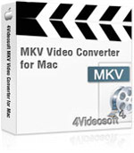 4Videosoft MKV Video Converter for Mac Coupon Code – 90%