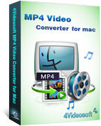 4Videosoft MP4 Video Converter for Mac Coupon Code