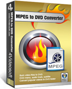 4Videosoft MPEG to DVD Converter Coupon