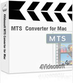 90% OFF 4Videosoft MTS Converter for Mac Coupon Code