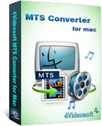 Exclusive 4Videosoft MTS Converter for Mac Coupon Code