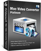 4Videosoft Mac Video Converter Platinum Coupon