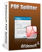 4Videosoft PDF Splitter Coupon – 90% Off