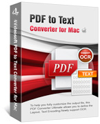 4Videosoft PDF to Text Converter for Mac Coupon – 90%