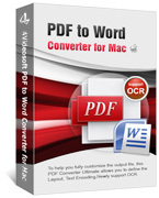 4Videosoft PDF to Word Converter for Mac Coupon