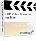 90% 4Videosoft PSP Video Converter for Mac Coupon Code