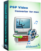 4Videosoft PSP Video Converter for Mac Coupon Code