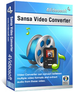 4Videosoft Sansa Video Converter Coupon Code