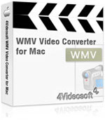 4Videosoft WMV Video Converter for Mac Coupon – 90% OFF