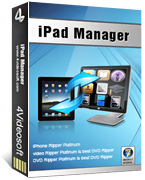 4Videosoft iPad Manager Coupon Code