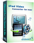 4Videosoft iPad Video Converter for Mac Coupon Code