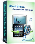 4Videosoft iPad Video Converter for Mac Coupon Code