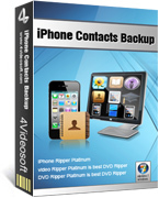 4Videosoft Studio 4Videosoft iPhone Contacts Backup Coupon