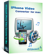 4Videosoft Studio – 4Videosoft iPhone Video Converter for Mac Coupons