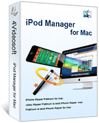 4Videosoft iPod Manager for Mac Coupons