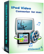 4Videosoft iPod Video Converter for Mac – Exclusive Coupons
