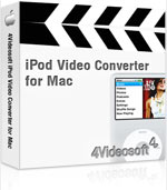 4Videosoft iPod Video Converter for Mac Coupon – 90%