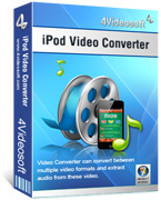 4Videosoft iPod Video Converter Coupon