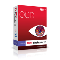 ABBYY FineReader 12 Corporate 4 Cores 1 Concurrent License Download Coupon