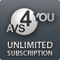 Unique AVS4YOU Unlimited Subscription Coupon Code