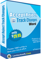 LantechSoft Accept Reject Track Changes Word Discount