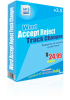 Window India Accept Reject Track Changes Coupon