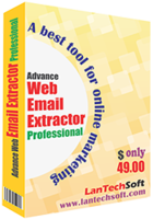 Advance Web Email Extractor Coupon Code 15%