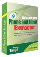 Advance Web Phone and Email Extractor Coupon