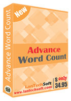 Advance Word Count Coupon Code