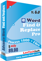 LantechSoft Advance Word Find & Replace Pro Coupon