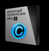 Advanced SystemCare 8 PRO (1 jarig abonnement / 3 PCs) – 15% Sale