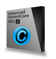 Advanced SystemCare 8 PRO Met Cadeaupakket  – SD+IU+PF – 15% Sale
