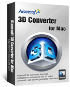 Aiseesoft 3D Converter for Mac Coupon Code – 40%
