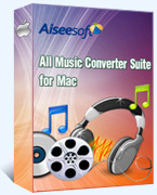 Aiseesoft Studio Aiseesoft All Music Converter Suite for Mac Coupons
